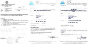 Πιστοποίηση Ε.Ο.Φ. / Δερματολογικός Έλεγχος ISPE / Οφθαλμολογικός Έλεγχος ISPE