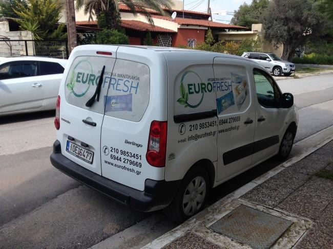 Eurofresh - Αρωματικά Μαντηλάκια